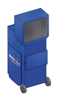 NEW! Blue PRC Portable Industrial Air Cleaner w/ HEPA E11 Filter PRC-1200B-E11