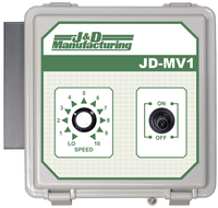J & D Manufacturing Manual Variable Speed Control No Cord JDMV1