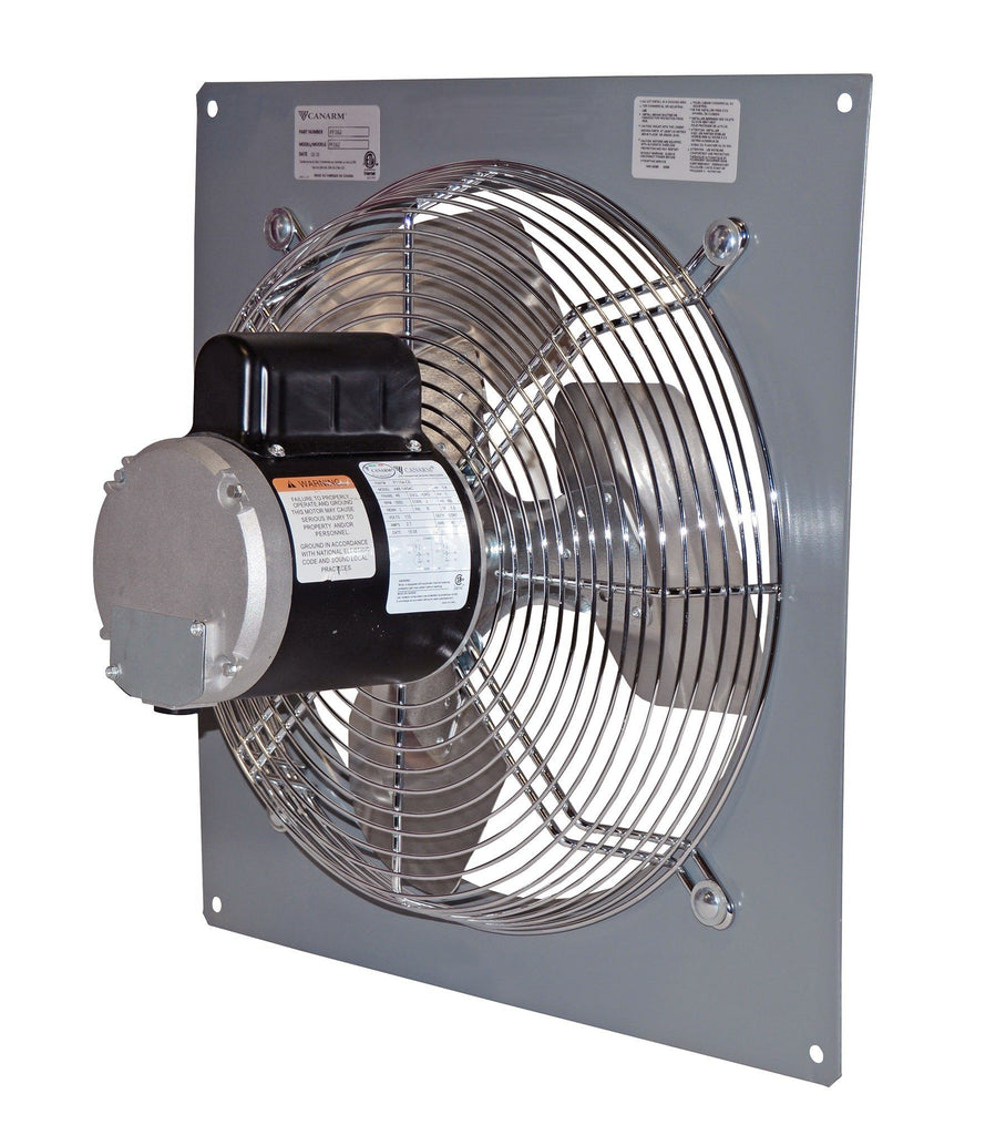 Wall Mount Panel Type Exhaust Fan 20 Inch Variable Speed