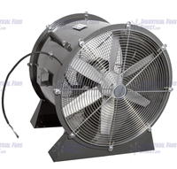 Explosion Proof Man Cooling Fan Low Stand 36 inch 18500 CFM 3 Phase NM36L-H-3-E, [product-type] - Industrial Fans Direct