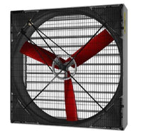 Galvanized Box Fan 50 inch 26000 CFM 240V Belt Drive V4E1520M11036