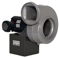 "AirFlo Spark Resistant Forward Curve Volume Blower 860 CFM at 1/4"" SP 3 Phase NLADB8-A-3E"