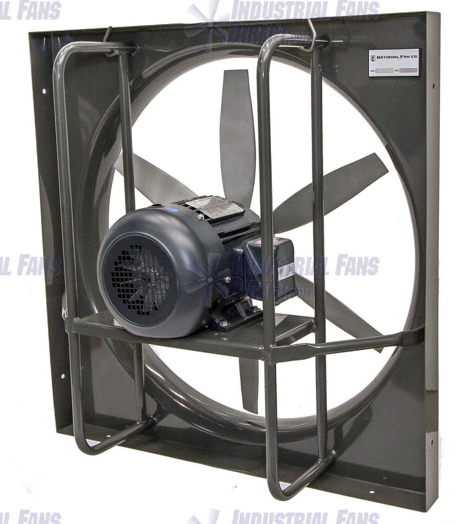 airflo panel explosion proof exhaust fan 48 inch 41000 cfm 3 phase