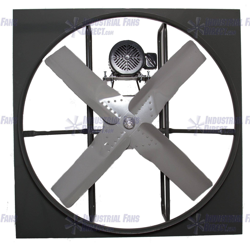 National Fan Co. AirFlo-N800 36 inch Panel Mount Supply Fan Belt Drive N836-F-1-TS