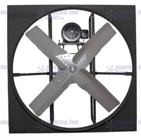 National Fan Co. AirFlo-N800 24 inch Panel Mount Supply Fan Belt Drive 3 Phase N824-E-3-TS