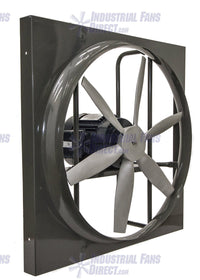 Panel Explosion Proof Exhaust Fan 24 inch 6840 CFM 3 Phase N924L-C-3-E, [product-type] - Industrial Fans Direct