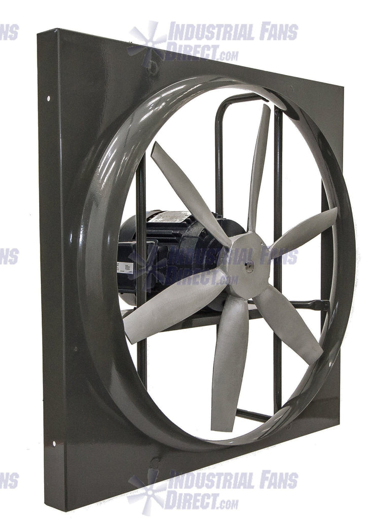 Panel Explosion Proof Exhaust Fan 24 inch 10500 CFM 3 Phase N924-H-3-E, [product-type] - Industrial Fans Direct