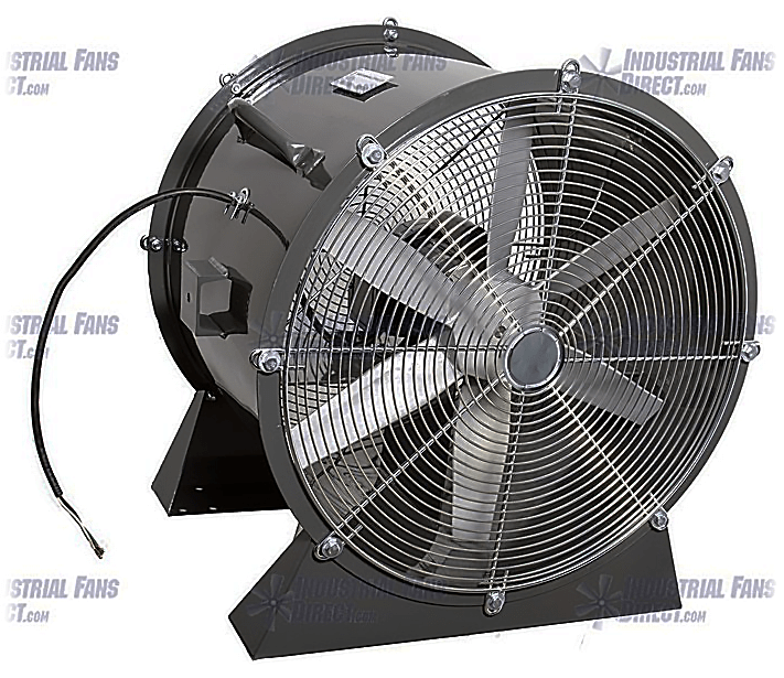 AirFlo Man Cooling Fan Low Stand 60 inch 47000 CFM 3 Phase NM60LLL-J-3-T
