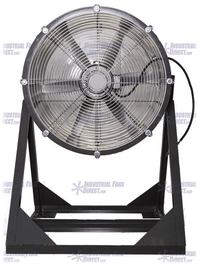AirFlo Man Cooling Fan Medium Stand 24 inch 7400 CFM 3 Phase NM24M-E-3-T