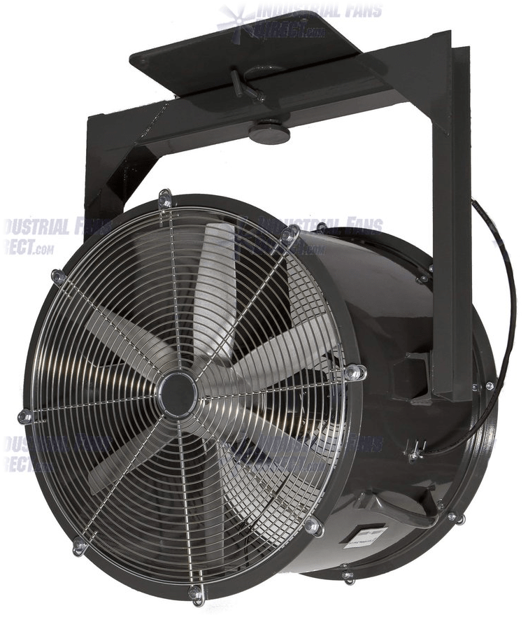 AirFlo Explosion Proof Man Cooling Fan 1 Way Swivel 24 inch 7400 CFM 3 Phase NM24Y-E-3-E