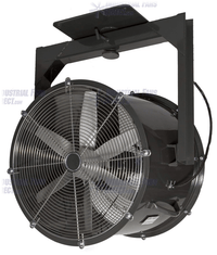 AirFlo Explosion Proof Man Cooling Fan 2 Way Swivel 24 inch 10500 CFM 3 Phase NM24Z-H-3-E