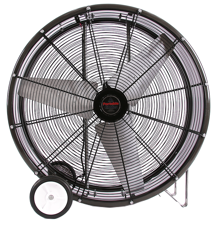 36 Inch Direct Drive Fans : Pc portable cooler barrel fan speed inch cfm