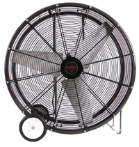 PC Portable Cooler Barrel Fan 1 Speed 48 inch 19100 CFM 3 Phase 230V Direct Drive PC4815-230-3PH