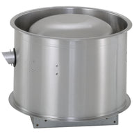 U.S. Fan Upblast Centrifugal Roof Exhaust Fan w/ EC Motor 12 inch 350 CFM 1 Phase 230 Volt Direct Drive USPDU120RFEC0018