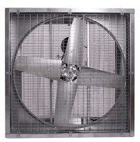 Agriculture Cabinet Mounted Exhaust Fan 54 inch 23400 CFM Belt Drive PFG54156