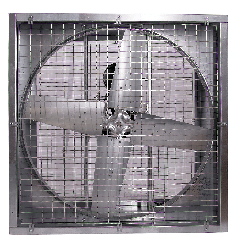 Agriculture Cabinet Mounted Exhaust Fan 42 inch 13640 CFM Belt Drive PFG4213