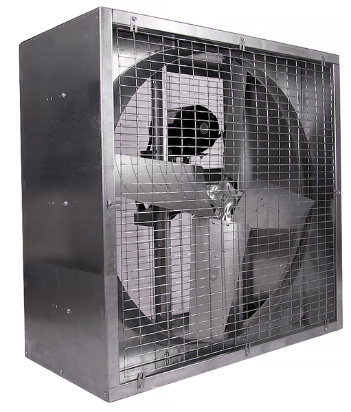 Agriculture Cabinet Mounted Exhaust Fan 48 Inch 21000 Cfm