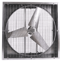 Agriculture Cabinet Mounted Exhaust Fan 48 inch 19900 CFM Direct Drive PFG4815D