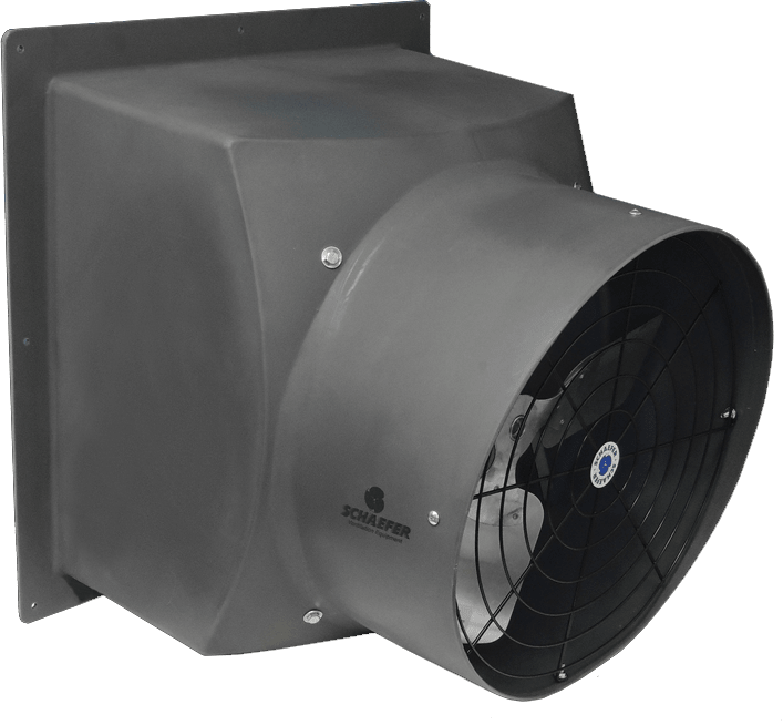 Explosion Proof Poly Exhaust Fan 16 inch 2960 CFM Direct Drive PFM1600-1-HL