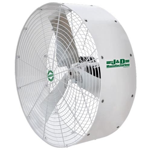 Poly Stormer White Recirculation Fan 36 inch 8070 CFM 1 Speed VPS36A