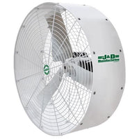 J & D Manufacturing 36 inch Poly Stormer White Recirculation Fan 3 Phase 1 Speed VPS36CF
