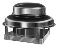 U.S. Fan Downblast Centrifugal Roof Exhaust Fan w/ EC Motor 8 inch 428 CFM 115 Volt Direct Drive USPRN080-3EC0031