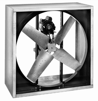 RVI Cabinet Supply Fan 24 inch 4100 CFM Belt Drive 3 Phase RVI2412-X