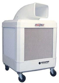 WayCool Portable Oscillating White Evaporative Cooler 3020 CFM 2 Speed w/ Automatic Shut-off WC-1HPMFAOSC