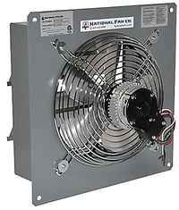 AirFlo-SF Exhaust Fan w/ Shutters 10 inch 703 CFM 2 Speed SF10BS