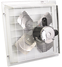 Non-Corrosive PVC Variable Speed Shutter Mounted Wall Exhaust Fan 20 inch 4900 CFM SFT-2000