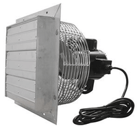 Variable Speed Shutter Exhaust Fan w/ Cord 24 inch 5625 CFM SFV24C