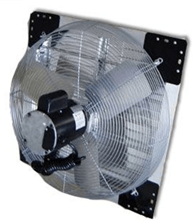 Variable Speed Shutter Exhaust Fan W Cord 16 Inch 1890 Cfm Direct Dri Industrial Fans Direct