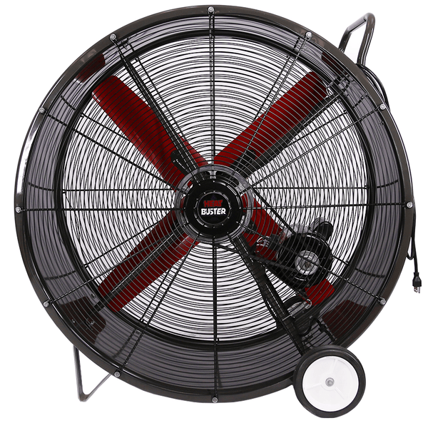 Tpc Heat Buster Portable Drum Fan 1 Speed 42 Inch 16990