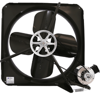 V Panel Exhaust Fan 1 Speed 36 inch 10900 CFM Belt Drive V3613-V