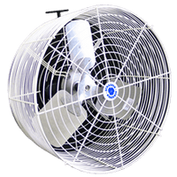 Versa-Kool Cattle Kooler Circulation Fan w/ Cord & Mount 12 inch 1470 CFM VK12-CK