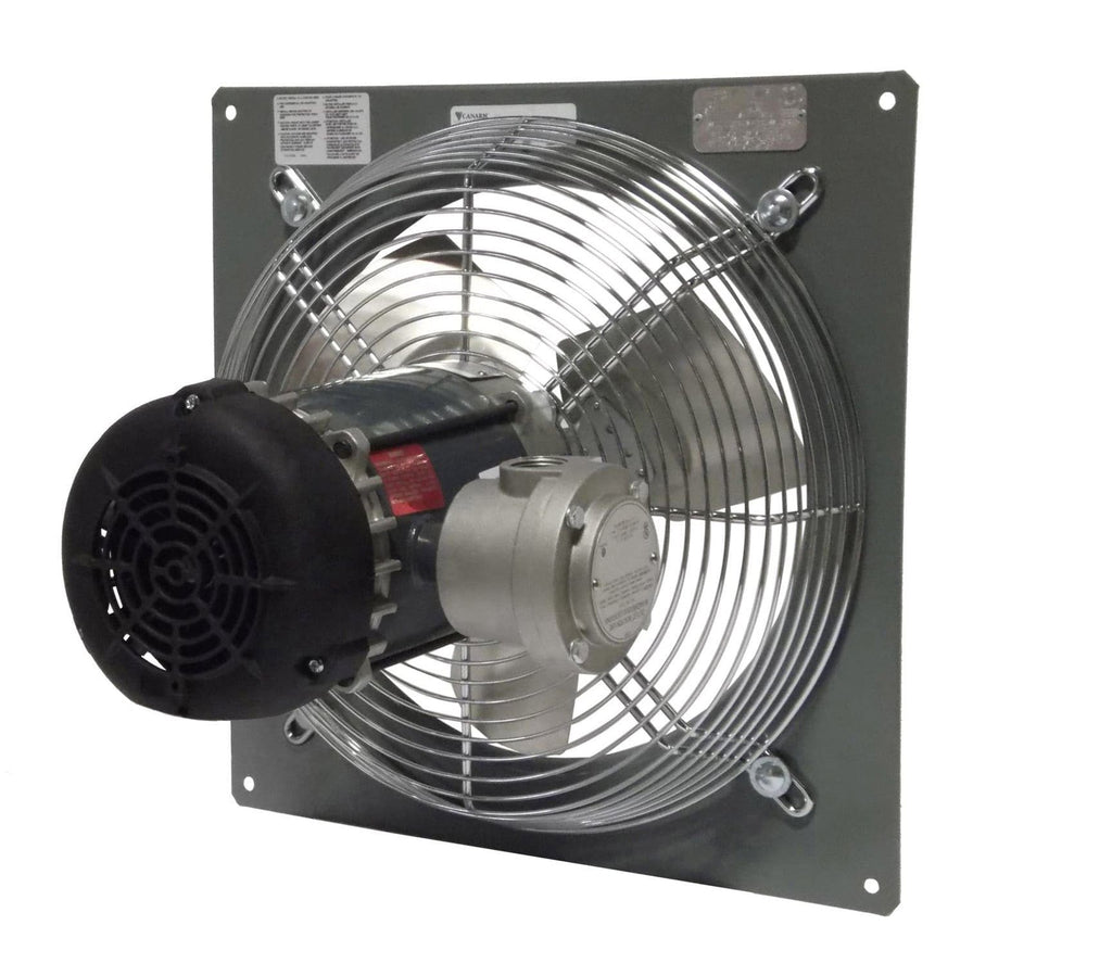 "Canarm P16-4 | 16"" Explosion Proof Panel Mount Exhaust Fan 2580 ... for Industrial Roof Exhaust Fan  131fsj"