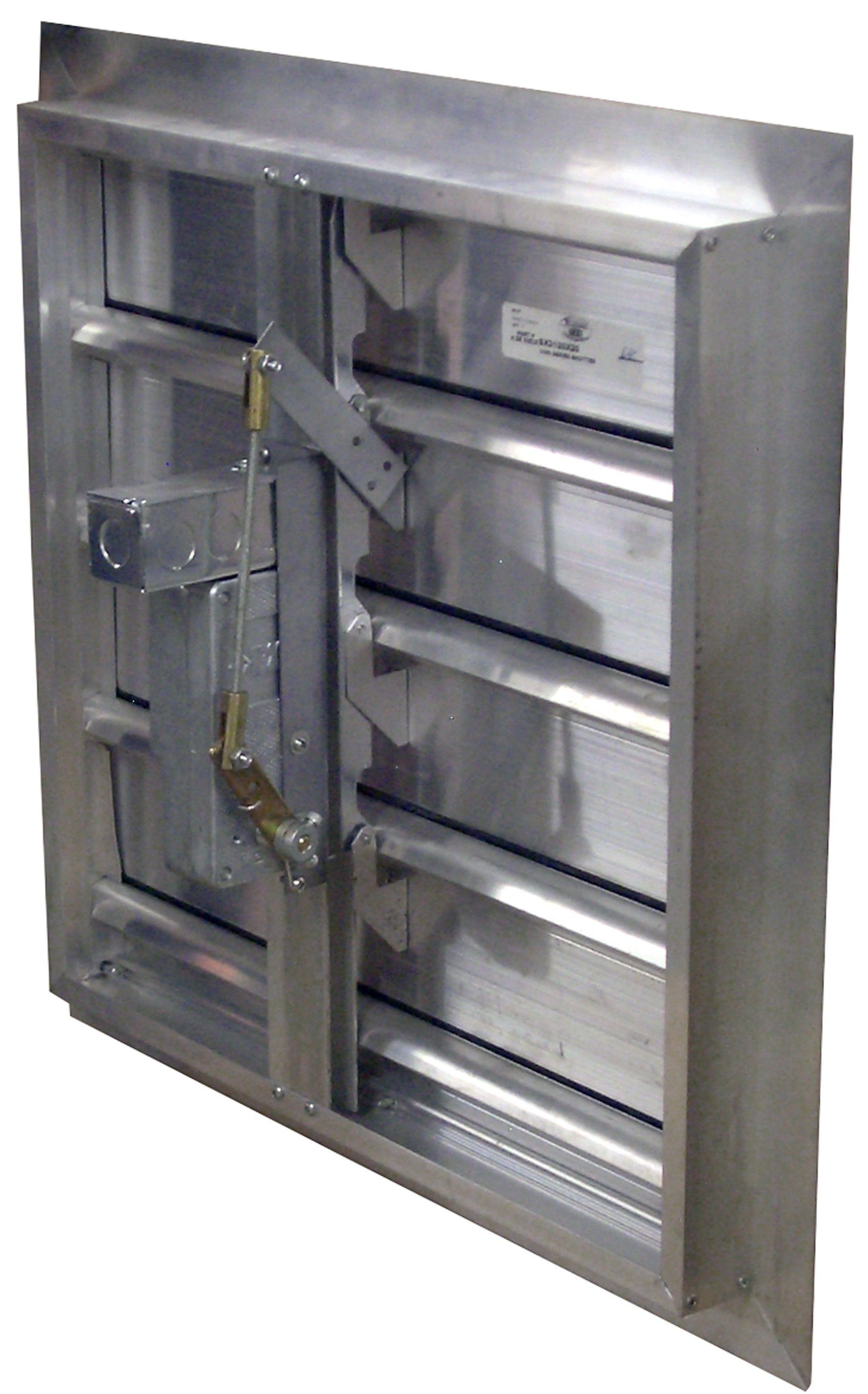 Motorized Dampers Exhaust Louvers Shutters Weather