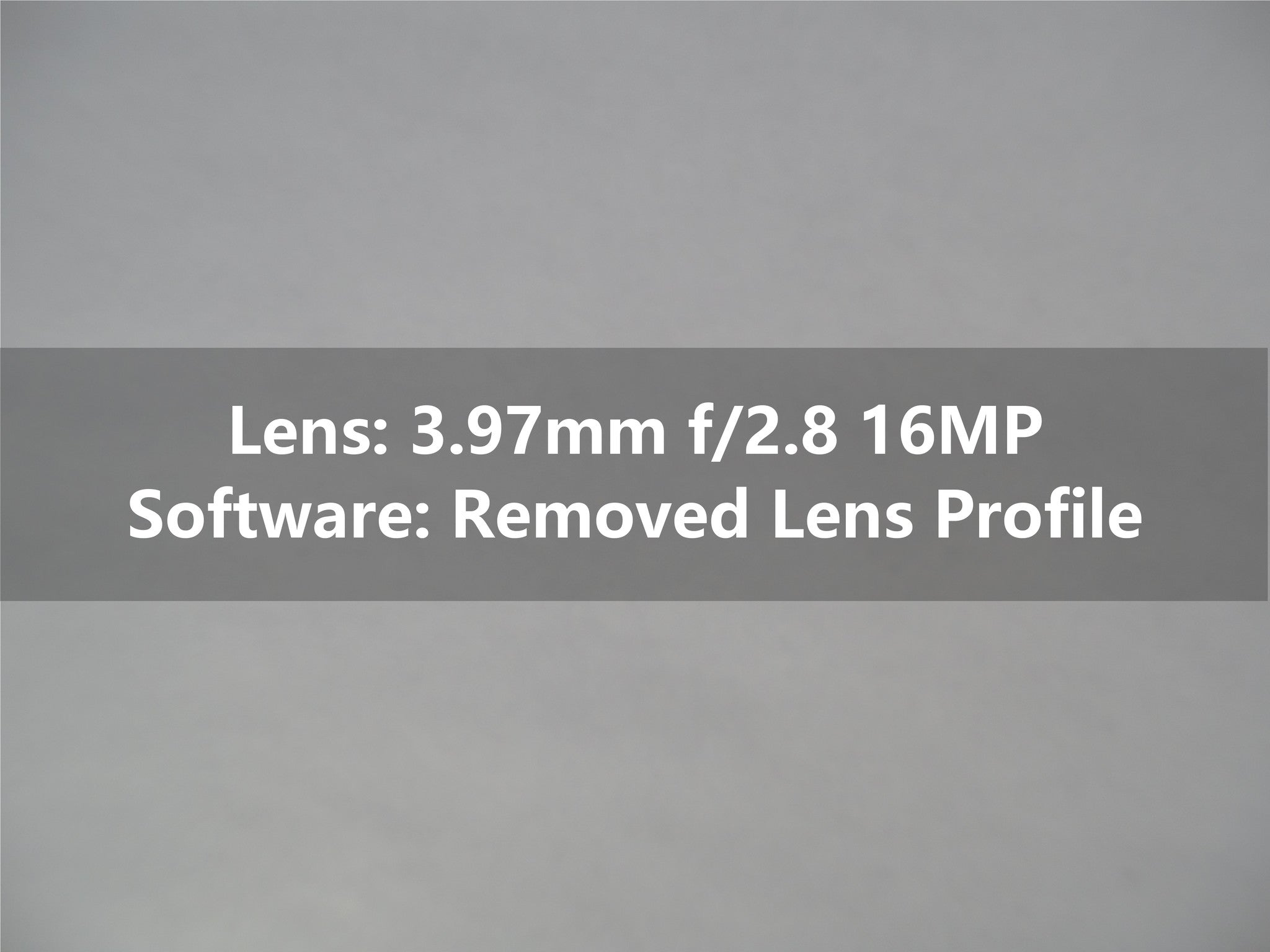 Service: Remove GoPro Lens Profile<br/>(No Pink Corners)