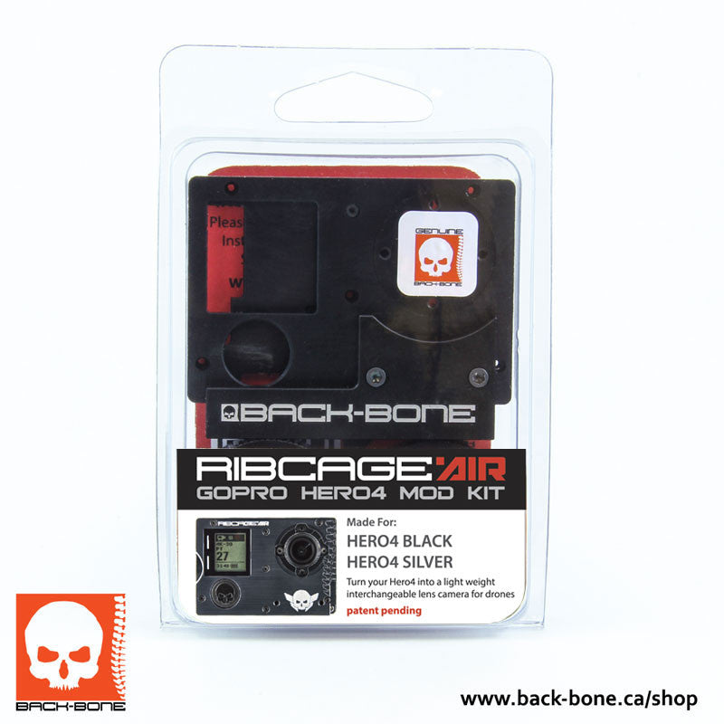 RibCage Air Kit DIY Hero 4 (No Camera Included)