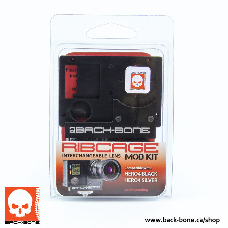 RibCage Kits DIY Hero 4 (No Camera Included)