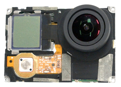 GoPro Hero 3+ Back Cover