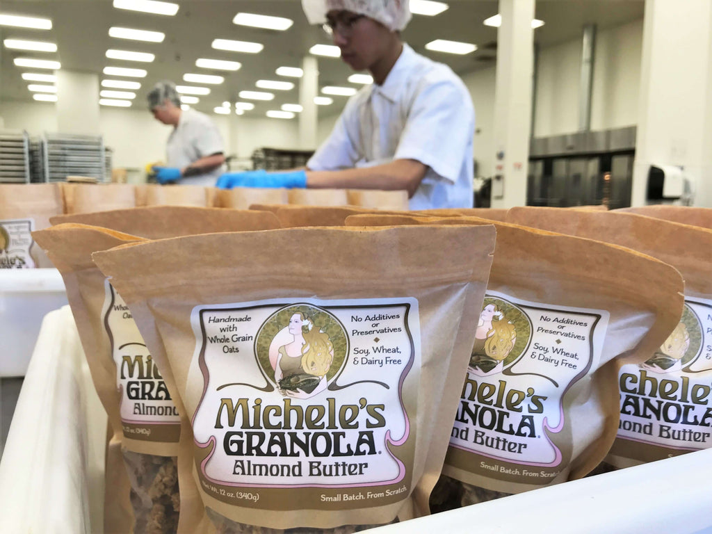 Introducing Michele's Almond Butter Granola!
