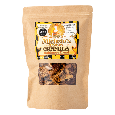 A Whole Foods Market Exclusive: Baltimore Blend Savory Granola Snack Mix