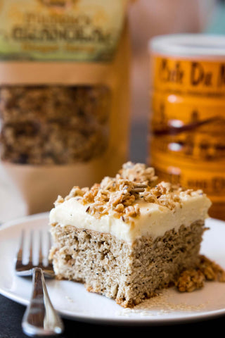 Michele's Lemon Ginger Hemp Coffee Cake