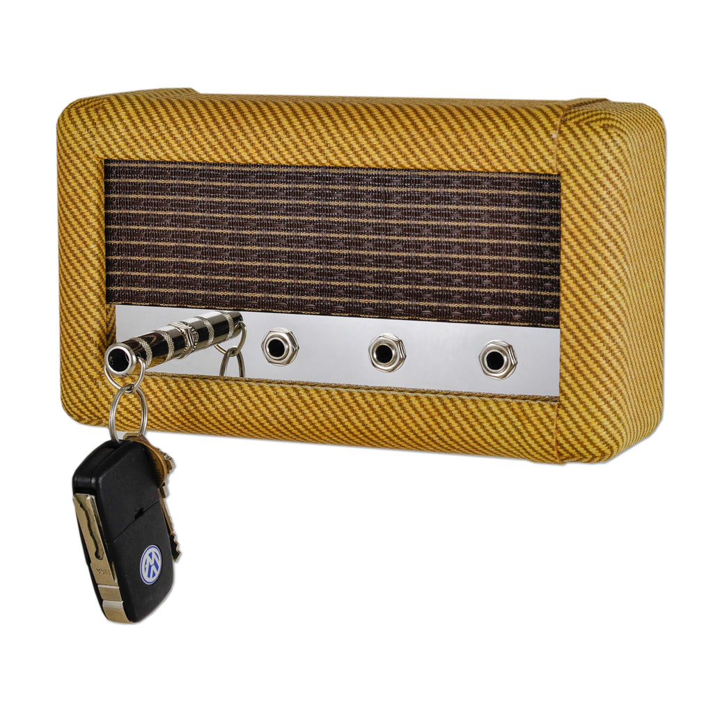 Guitar amp key holder tweed combo by droplight ind