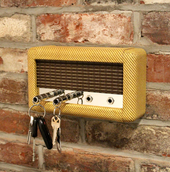 Guitar Amp Wall Mounted Key Holder  (Tweed Combo)