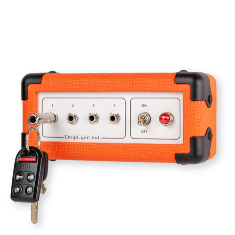 Orange guitar amp key holder by DropLight Ind.
