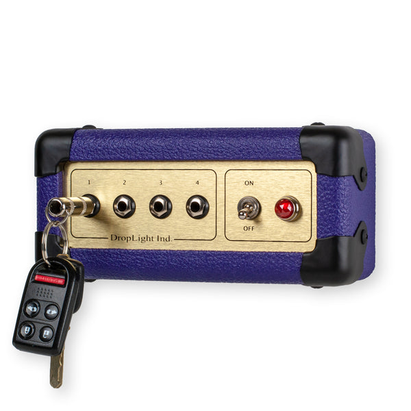 Purple Guitar Amp Key Holder by DropLight Ind.