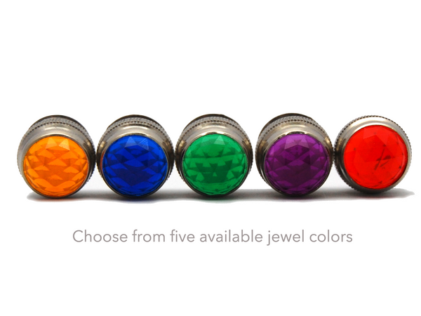 Five jewel color choices