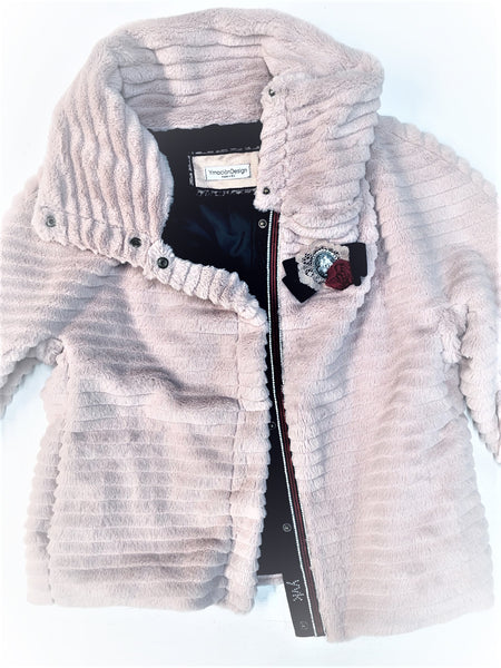 Vintage pink furry jacket